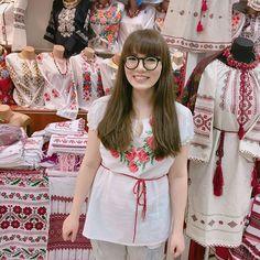 the day after vyshyvanka day—a vyshyvanka! i want a blue one, too, i think. . . . . . #첫줄 #일상 #데일리 #좋아요 #쇼핑 #셀스타그램 #셀스타 #얼스타그램 #얼스타 #셀카 #셀피 #selfie #selca #유럽 #우크라이나 #키예프 #여행 #travel #ukraine #kyiv  #vyshyvanka #вишиванки #Київ #Україна http://tipsrazzi.com/ipost/1518191987026833159/?code=BURs5GHlC8H