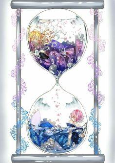Yukari and Yuyuko... beautiful art--