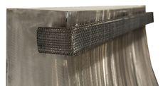 One of the new line of wrought iron custom range hoods from Ironhaus.