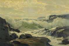 laclefdescoeurs: Côte du Maine, Frederick Judd Waugh