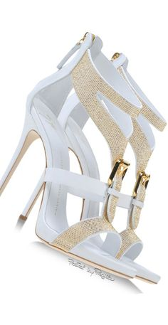 Giuseppe Zanotti White Sandals  | Shoes CH