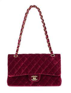 Chanel velvet bag Chanel Paris 68d0470f49efb