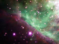 Orion Nebula Spied by Hawk I 1600