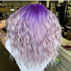 45 Purple Hair Color Ideas & Trends: Highlights, Styles and Pretty Hair Color, Hair Color Purple, Color Your Hair, Purple Ombre, Bright Hair Colors, Different Hair Colors, Fall Hair Colors, Short Purple Hair, Purple Braids