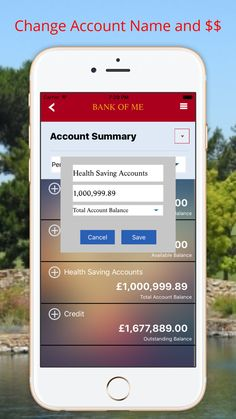 Fake Bank Pro Prank Bank on the App Store Wells Fargo Account, Printable Checks, Bank Account Balance, Banking Industry, Health Savings Account, Wealth Affirmations, Simple App, App Support, Free Gift Cards