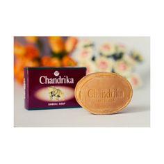 Ajurwedyjskie mydło sandałowe Chandrika cena 7 zł http://zielonysklep.com/pl/kosmetyki/ajurwedyjskie-mydlo-sandalowe-chandrika