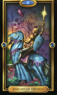 Via Tarot: Príncipe de Espadas Como estamos em uma quarta-feira de Mercúrio, todas as capacidades comunicativas se expandem e a presença do herdeiro do Reino do Ar reforçam suas características pessoais.
