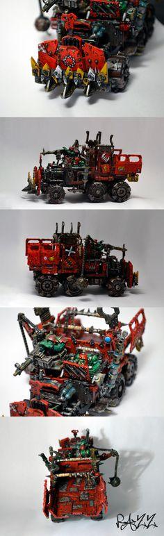 CoolMiniOrNot - Ork Trukk by Razz