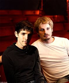 Bradley James & Colin Morgan