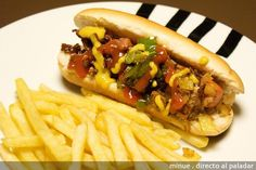 receta original hot dogs gray papas - Buscar con Google