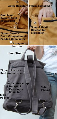 Dual Duty is a good thing. Fortuner Backpack Convertible in Cinnamon (Water  Resistant) dbfb03a507