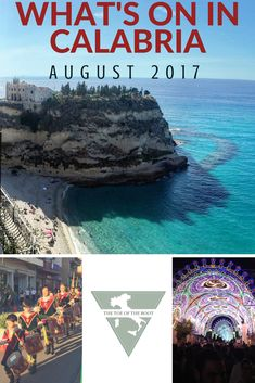 What's on in Calabria in August 2017 - The Toe of the Boot
