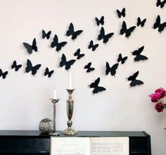 3d Butterfly Wall Art by thedispensery on Etsy