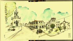 Urban Sketchers Portugal: Marcelo de Deus