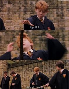 Harry and ron harry james potter, harry potter memes, harry pot Harry Potter World, Harry Potter Ron Weasley, Mundo Harry Potter, Harry James Potter, Harry Potter Jokes, Harry Potter Pictures, Harry Potter Universal, Harry Potter Fandom, Harry Potter Characters