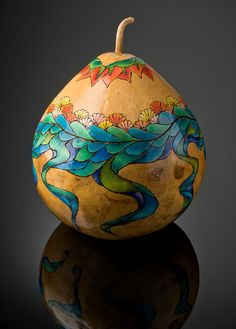 gourd art | Kathleen Troutman: GOURD ART > DRAGON EGGS