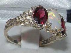 Image result for garnet ring design