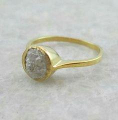 Wedding Bridesmaids Photos Etsy 58 Ideas For 2019 Raw Diamond, Diamond Rings, Diamond Jewelry, Etsy Jewelry, Handmade Jewelry, Handmade Gifts, Wedding Nails, Wedding Rings, Pearl Cream