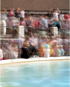 Trevi fountain, Roma 2013 #trevi #trevifountain #roma #rome #tourist #laurentbaillet #crowd #water #fountain #massculture #instagood #insta #followme #art #architecture #streetphotography #street #streetphoto