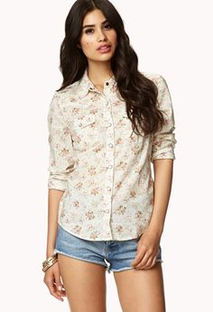 a1f920fe6fd Who doesn t love a floral western shirt  Western Shirts