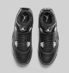 """Air Jordan 4 Retro """"Oreo"""" (Tech Grey)"""