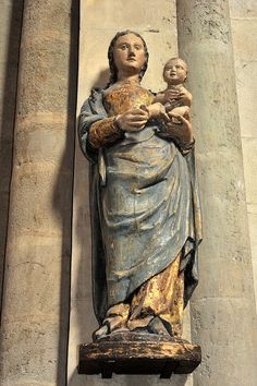 Behold thy Mother and Holy Queen!  Vierge des Halles (XVe s.) - Cathédrale de Laval