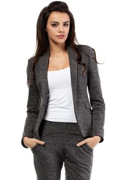 Office chic Blazer You are in the right place about Blazer Outfit sin mangas Here we offer you the most beautiful pictures about the kim kardashian Blazer Outfit you are looking for. When you examine Long Blazer, Casual Blazer, Tweed Blazer, Blazer Dress, Skirt Outfits, Chic Outfits, Fall Outfits, Black Blazers, Blazers For Women