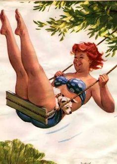 Hilda, a pin-up mais fofa do mundo.