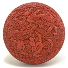 Cinnabar Lacquer 'Dragon' Box and Cover, Qianlong Mark and of the Period #asianart #michaans #auctions http://www.michaans.com/highlights/2017/highlights_06182017.php