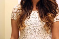DIY ombre hair.