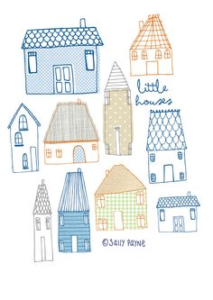 Illustration Houses-vanillatitch2014