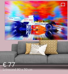 Neu in meiner Galerie bei OhMyPrints: Version III - Jacky's McLaren Nürburgring 1973