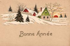 نتيجة بحث الصور عن anciens cartes bonne année