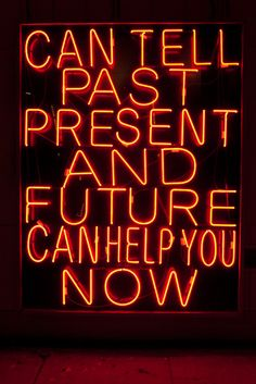 terry richardson - can tell past present and future can help you now