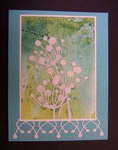Memory Box Chloe Stems Die:  card by hobbydujour - Cards and Paper Crafts at Splitcoaststampers