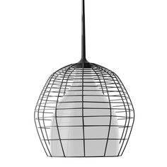 CAGE - Suspension Noir/Blanc Ø46cm Diesel with Foscarini