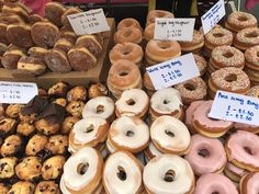 From sweet treats like these to delicious healthy meals, Portobello Road has something for every foodie! Read about it here: http://jumpedthenest.com/mouth-watering-markets-saturday-on-portobello-road/