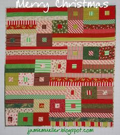 Christmas Awesome Quilt by @Jamie Mueller