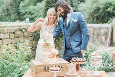 Image by Katy Melling Photography - Temperley London Wedding Dress | Brinkburn…
