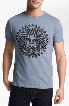Obey 'Aztec Stencil' T-Shirt Aztec, Stencils, Nordstrom, Mens Fashion, Men's Style, Phoenix, Cotton, Mens Tops, T Shirt