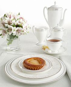 My china - the Waterford Padova table setting