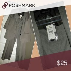 Biz suit. last Lowered discount not free Light Tan biz suit. Styling. 3/4 sleeve Lane Bryant Pants Boot Cut & Flare