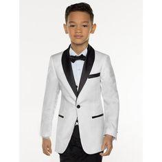 KUSON White Boy Suit Set Kids Boy Suits for Weddings Prom Suits Children Formal Dress for Boys Kids Tuxedo (Jacket+Pants+Vest) _ {categoryName} - AliExpress Mobile Version - Ivory Tuxedo, Black Tuxedo Suit, Boys Tuxedo, Formal Tuxedo, Tuxedo Jacket, Boys Suit Sets, Kids Suits, Women's Suits, Boys Black Suit