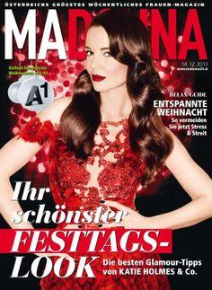 Madonna Magazine [Austria] (14 December 2013) Katie Holmes