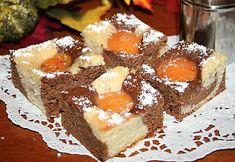 Dvoubarevný meruňkový koláč