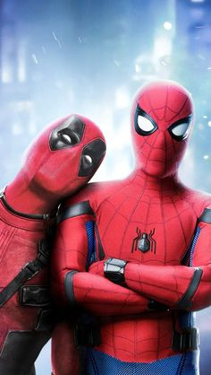 Deadpool and Spiderman Art iPhone Wallpaper Marvel Comics – Anime Characters Epic fails and comic Marvel Univerce Characters image ideas tips Marvel Avengers, Deadpool Y Spiderman, Marvel Comics, Spiderman Art, Marvel Art, Marvel Memes, Ms Marvel, Captain Marvel, Deadpool Hd Wallpaper