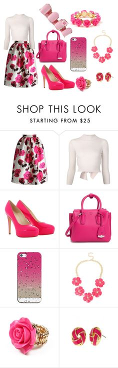 """Substitute Teacher"" by arialpayne ❤ liked on Polyvore featuring Chicwish, Alexander McQueen, Brian Atwood, MCM, Casetify, INC International Concepts, Amrita Singh, Fornash, women's clothing and women"