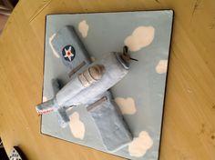 F4F plane cake