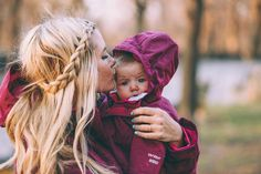 Matching Coats - Barefoot Blonde by Amber Fillerup Clark Cute Family, Baby Family, Family Goals, Cute Kids, Cute Babies, Baby Kids, Dog Baby, Mommy And Me, Mom And Dad