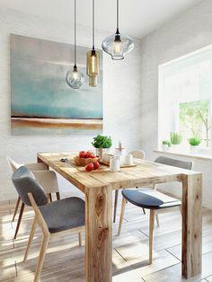 Modern kitchen in Moscow home / Cocina moderna en casa de Moscú // Casa Haus
